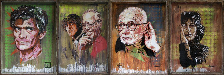 Muro Street Art Tuscolano Quadraro Rome