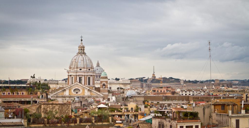 2500 Years History Monti Neighbourhood Rome