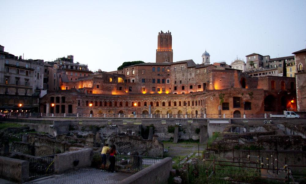 Traiano Markets Exhibition Emperor From Provinces