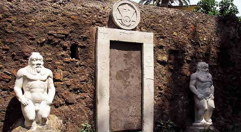 Mysteries Rome Alchemy Gate Villa Palombara